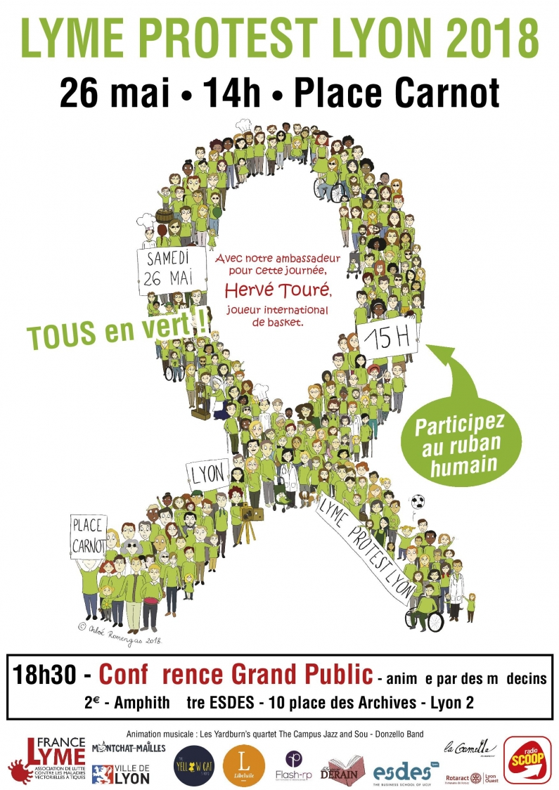 Affiche Lyme Protest